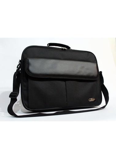 Km-100 15.6 Kasnaklı Siyah Laptop Çantası-M&W